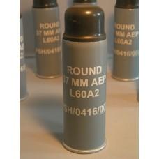Inert 37mm L60A2 AEP Baton Round