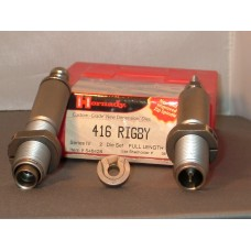 Hornady Custom Grade Die set .416 Rigby